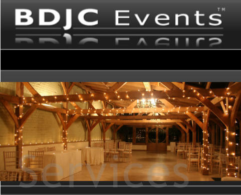 Fairy lights & canopies for Weddings and Events from BDJC Events