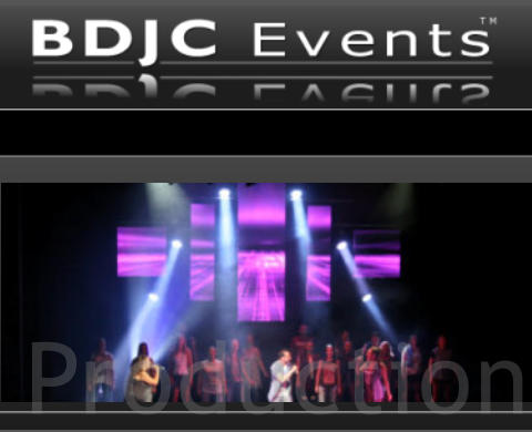 Event Production services from BDJC Events