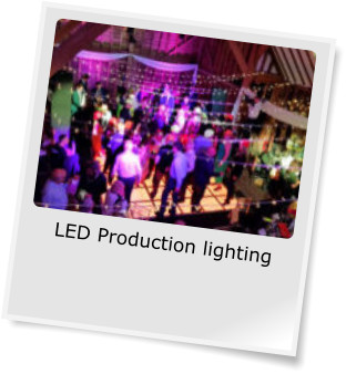 LED Production lighting