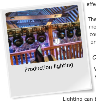 Production lighting